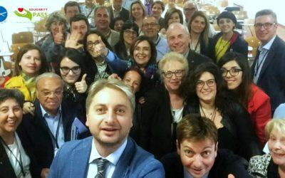 Solidarity PASS: Entusiasmo e partecipazione all'incontro di Pergusa-Enna