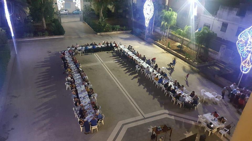Cena di solidarietà – Ieri 11/09/2018 a Solarino (sr) si è svolta la  cena di solidarietà organizzata dalla Conferenza Madonna delle Lacrime, con la partecipazione del Consiglio Centrale.